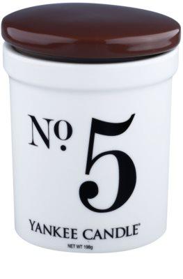 Yankee Candle Coconut & Vanilla dišeča sveča    (No.5)