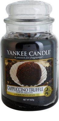 Yankee Candle Cappuccino Truffle vela perfumado  Classic grande