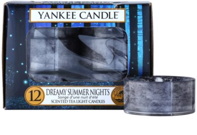 Yankee Candle Dreamy Summer Nights vela do chá