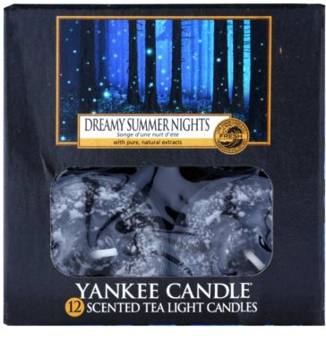 Yankee Candle Dreamy Summer Nights vela do chá 2