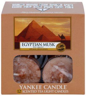 Yankee Candle Egyptian Musk Чаена свещ 2