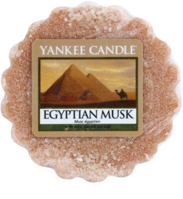 Yankee Candle Egyptian Musk ceară pentru aromatizator