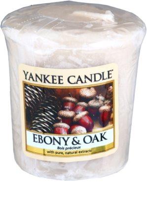 Yankee Candle Ebony & Oak votivní svíčka