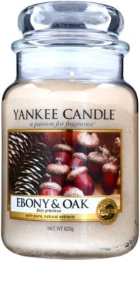 Yankee Candle Ebony & Oak ароматна свещ   Classic голяма
