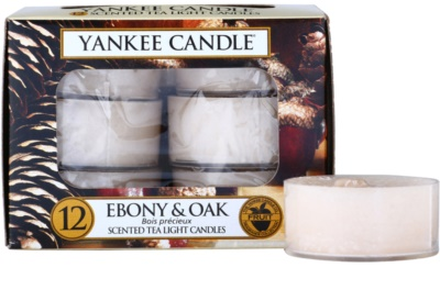Yankee Candle Ebony & Oak teamécses
