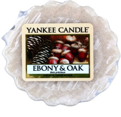 Yankee Candle Ebony & Oak vosek za aroma lučko