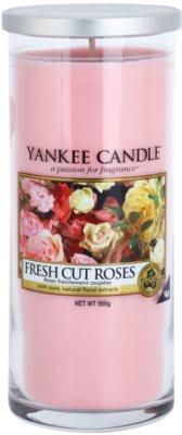 Yankee Candle Fresh Cut Roses świeczka zapachowa   Décor duża