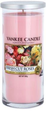 Yankee Candle Fresh Cut Roses vonná svíčka  Décor velká