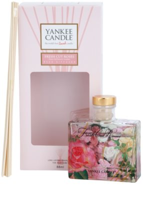 Yankee Candle Fresh Cut Roses Aroma Diffuser mit Nachfüllung  Signature