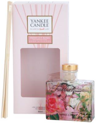 Yankee Candle Fresh Cut Roses difusor de aromas con el relleno  Signature