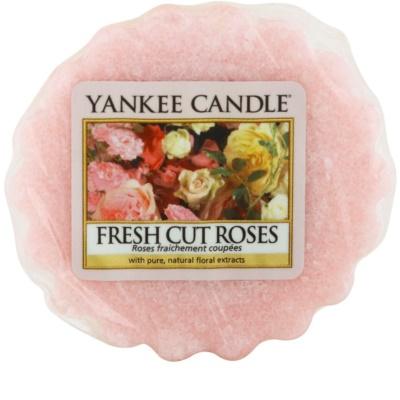 Yankee Candle Fresh Cut Roses ceară pentru aromatizator