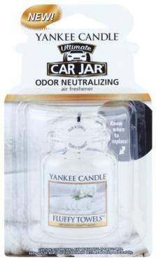 Yankee Candle Fluffy Towels vôňa do auta   závesná