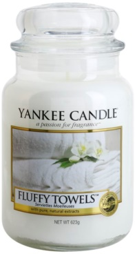 Yankee Candle Fluffy Towels Duftkerze   Classic groß