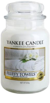 Yankee Candle Fluffy Towels illatos gyertya   Classic nagy méret