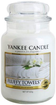 Yankee Candle Fluffy Towels lumanari parfumate   Clasic mare