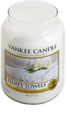 Yankee Candle Fluffy Towels illatos gyertya   Classic nagy méret 1