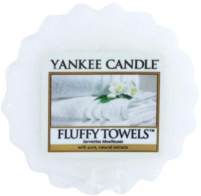 Yankee Candle Fluffy Towels cera derretida aromatizante