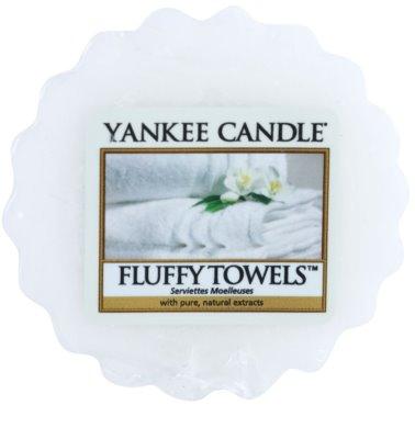 Yankee Candle Fluffy Towels cera para lámparas aromáticas