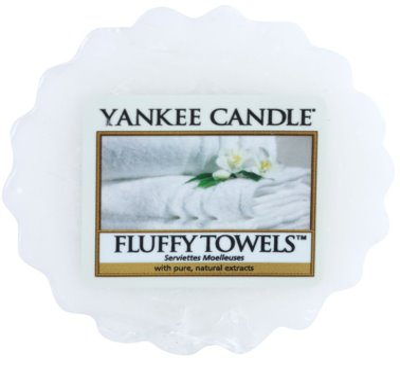 Yankee Candle Fluffy Towels Wachs für Aromalampen