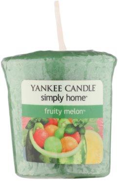 Yankee Candle Fruity Melon votivní svíčka
