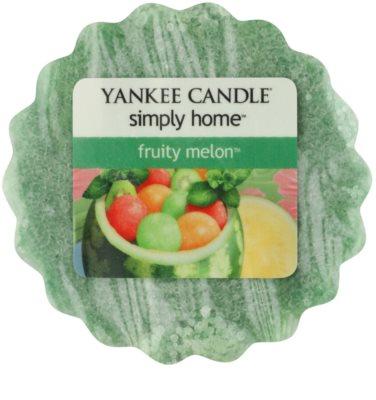 Yankee Candle Fruity Melon ceară pentru aromatizator