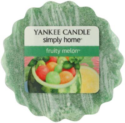 Yankee Candle Fruity Melon illatos viasz aromalámpába