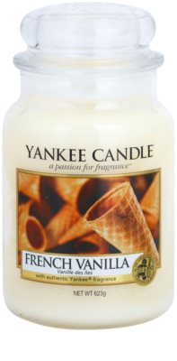 Yankee Candle French Vanilla świeczka zapachowa   Classic duża