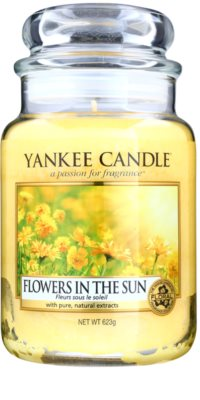 Yankee Candle Flowers in the Sun Scented Candle  Classic Large