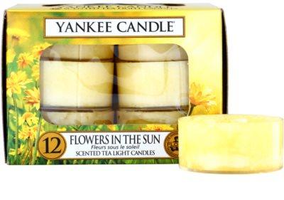 Yankee Candle Flowers in the Sun čajová svíčka
