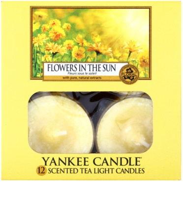 Yankee Candle Flowers in the Sun teamécses 2