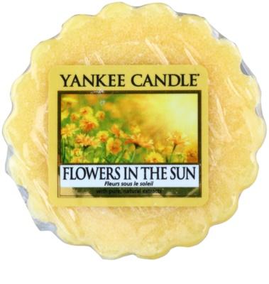 Yankee Candle Flowers in the Sun cera para lámparas aromáticas