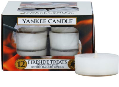 Yankee Candle Fireside Treats vela do chá