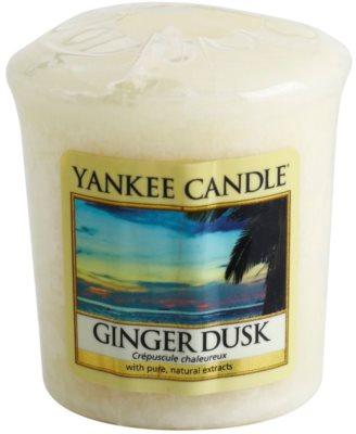 Yankee Candle Ginger Dusk sampler