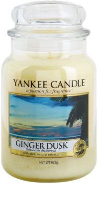 Yankee Candle Ginger Dusk vela perfumada   Classic grande