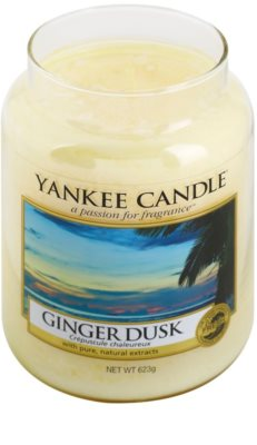 Yankee Candle Ginger Dusk vela perfumada   Classic grande 1