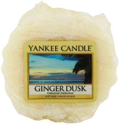 Yankee Candle Ginger Dusk Wachs für Aromalampen