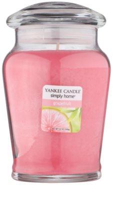 Yankee Candle Grapefruit vela perfumado  intermédio