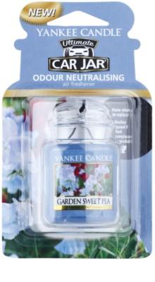 Yankee Candle Garden Sweet Pea illat autóba   felakasztható autóillatosító