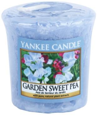 Yankee Candle Garden Sweet Pea votivní svíčka