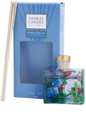 Yankee Candle Garden Sweet Pea difusor de aromas con el relleno  Signature