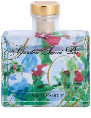 Yankee Candle Garden Sweet Pea aroma difuzér s náplní  Signature 1
