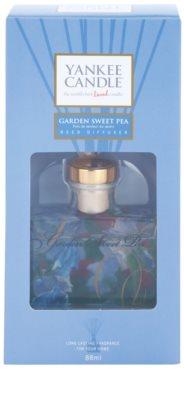 Yankee Candle Garden Sweet Pea aroma difuzér s náplní  Signature 2