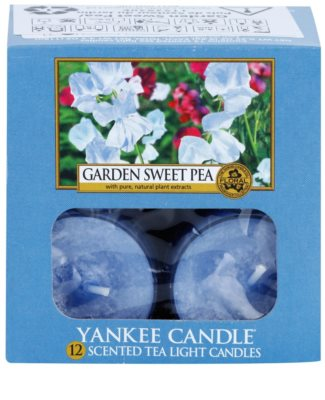 Yankee Candle Garden Sweet Pea teamécses 2