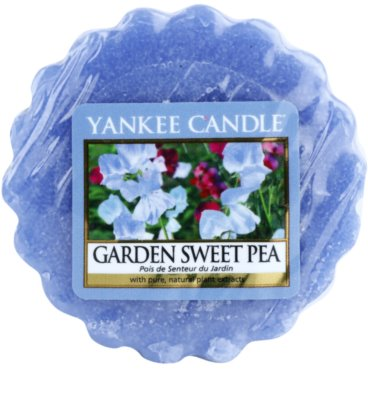 Yankee Candle Garden Sweet Pea illatos viasz aromalámpába