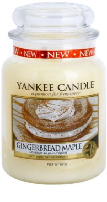 Yankee Candle Gingerbread Maple ароматна свещ   Classic голяма