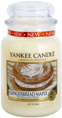 Yankee Candle Gingerbread Maple vela perfumada   Classic grande