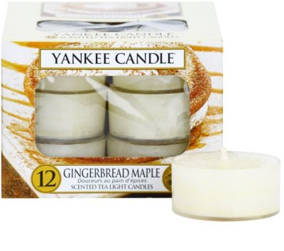 Yankee Candle Gingerbread Maple čajová svíčka
