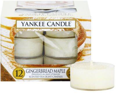 Yankee Candle Gingerbread Maple vela de té
