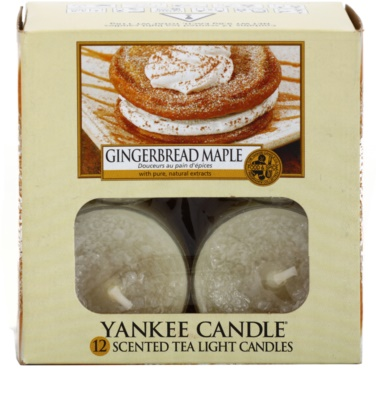 Yankee Candle Gingerbread Maple čajová svíčka 1
