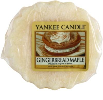 Yankee Candle Gingerbread Maple illatos viasz aromalámpába